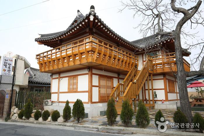 Guest House Hanok Seorabeol di Gyeongju