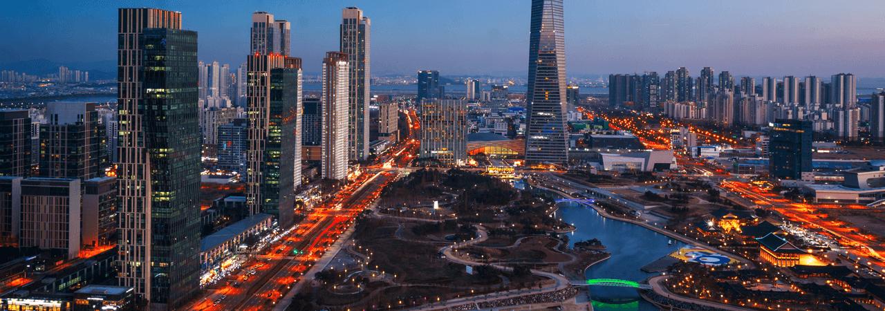 Incheon Kota dengan wisata romantis yang menyenangkan