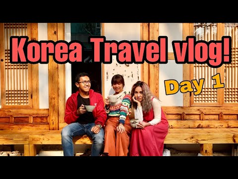 KOREA VLOG #1 : NAIK KOREAN AIR, GYEONGBOKGUNG PALACE, BUKCHON HANOK VILLAGE, NAMSAN SEOUL TOWER