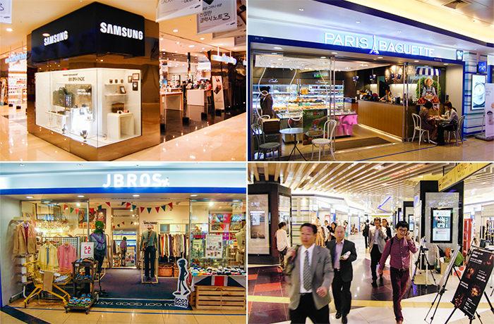Terminal Gangnam Underground Shopping Center