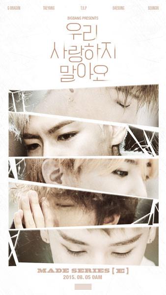 "Big Bang Rilis Lagu Kedua untuk Album MADE Seri ""E"""