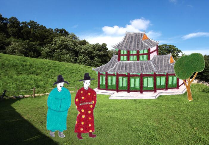 Istana Goryeo, Istana Kerajaan yang Menyerupai Bunga Peony