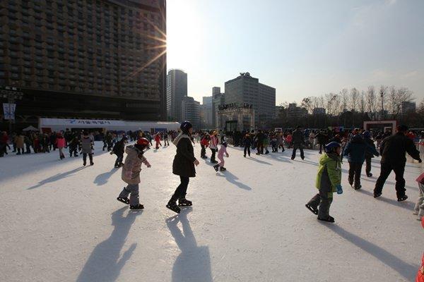 Arena Skating Outdoor di Jantung Kota