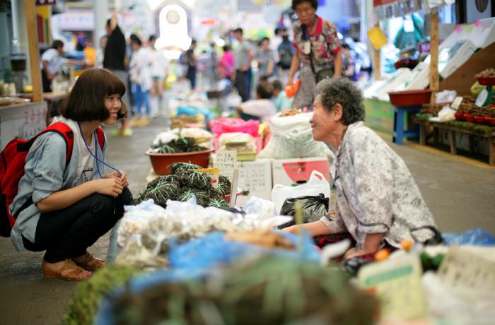 Jeongseon Arirang Market