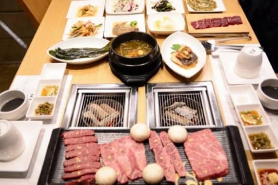 Premium beef grill MISO