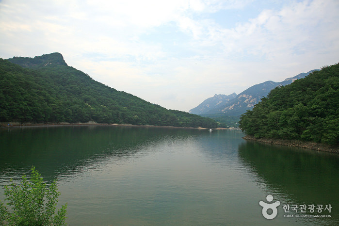 Danau Pocheon Sanjeonghosu