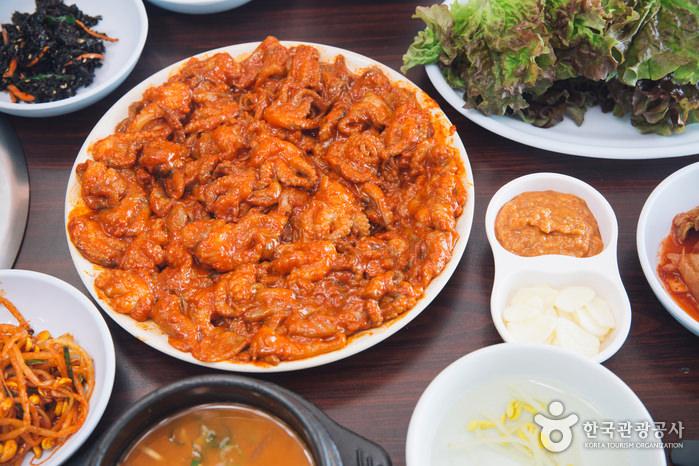 Restoran Chungmuro Jjukkumi Bulgogi