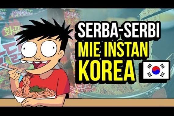 Hal-Hal yang perlu diketahui tentang MIE INSTAN KOREA