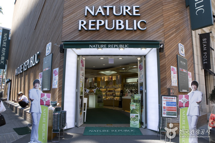 Toko Kosmetik Nature Republic Cabang Myeongdong World