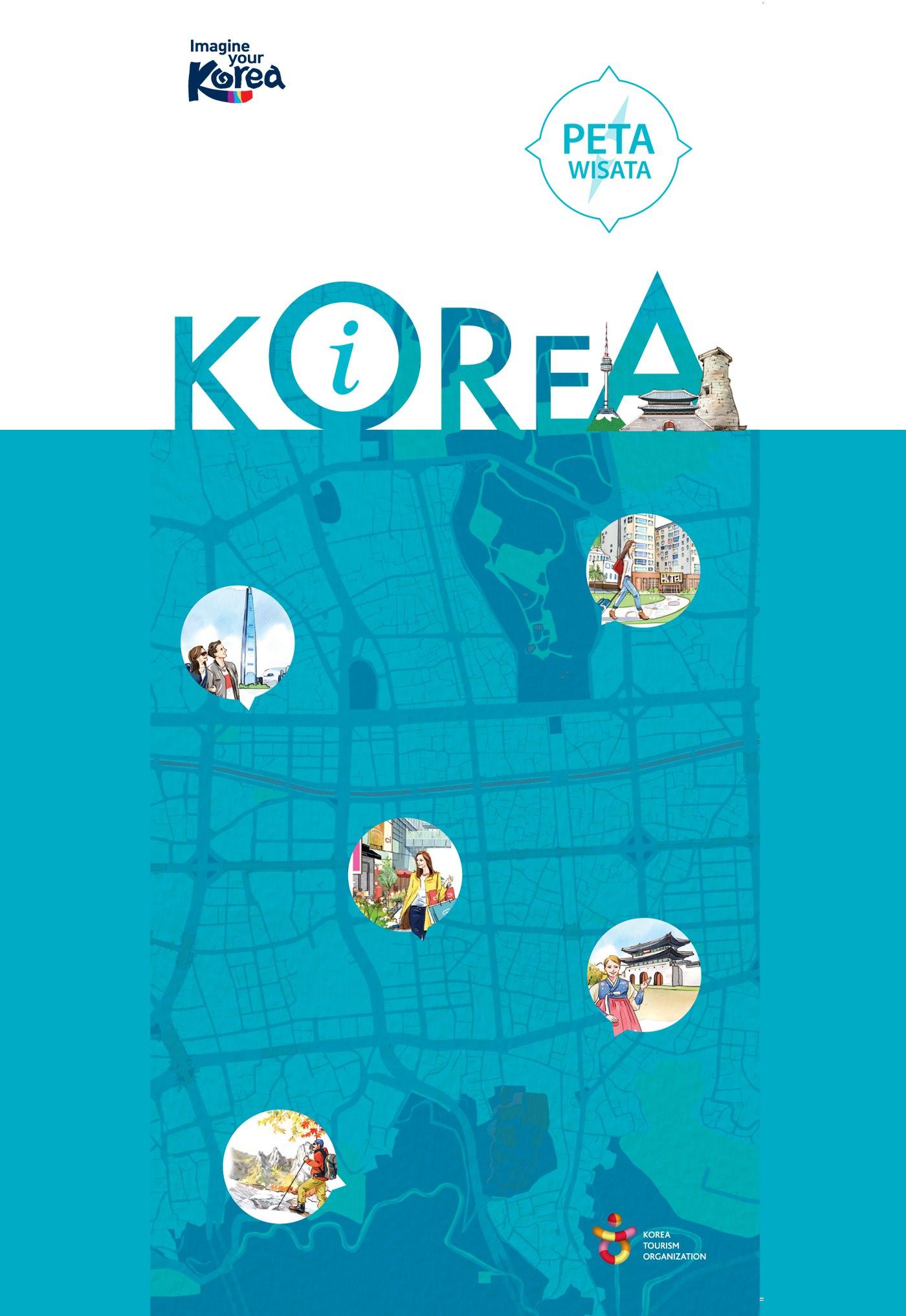 Peta Wisata versi Bahasa Indonesia.