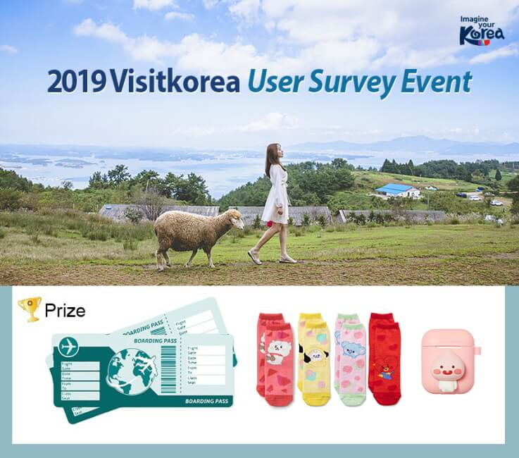 Menangkan Perjalanan ke Korea! Acara Survei Pengguna VK 2019