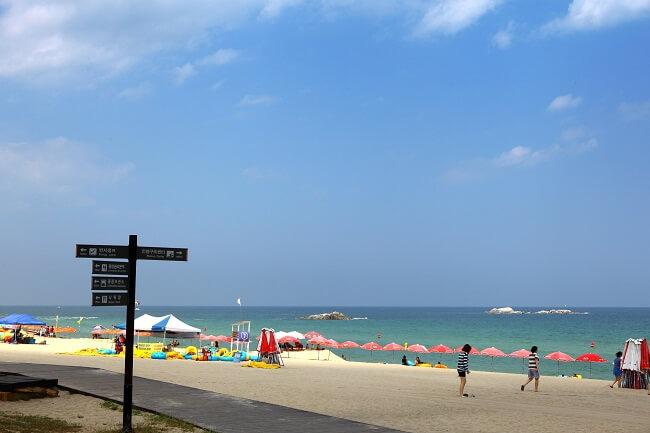 Peraturan Jarak Sosial untuk Pantai