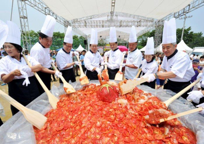 Festival Tomat Toechon Gwangju