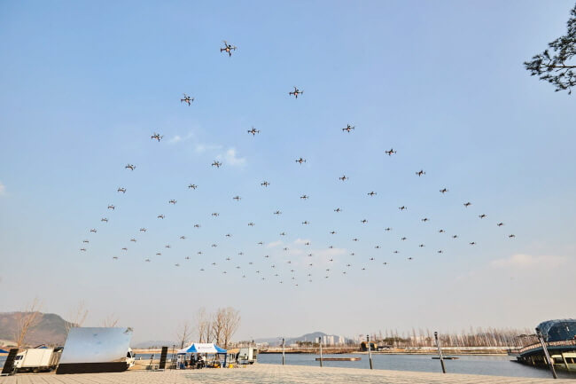 Balap Drone yang Seru, Tantangan Drone Seoul 2019