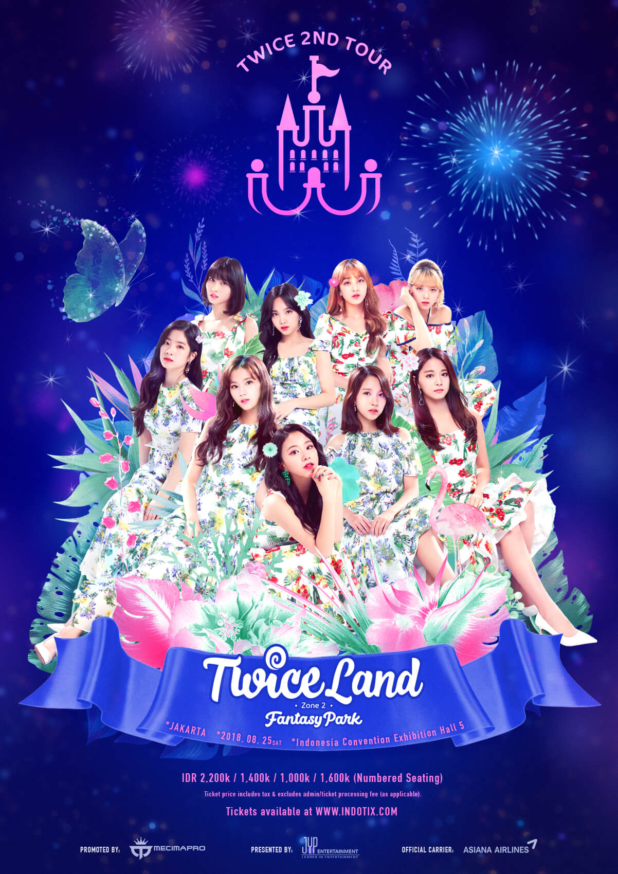 GIVEAWAY!! TIKET NONTON KONSER TWICE PERSEMBAHAN ASIANA AIRLINES