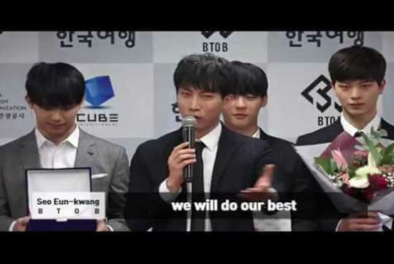 Penunjukan BTOB sebagai Duta Pariwisata Korea (KTO) tahun 2018