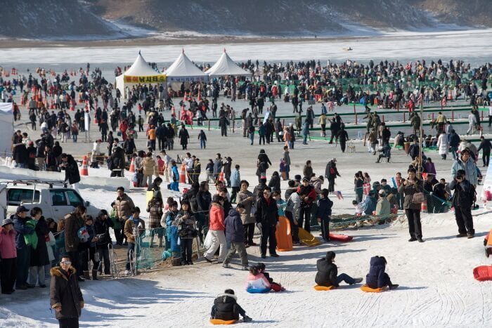 Festival Icefish Inje (인제 빙어축제)