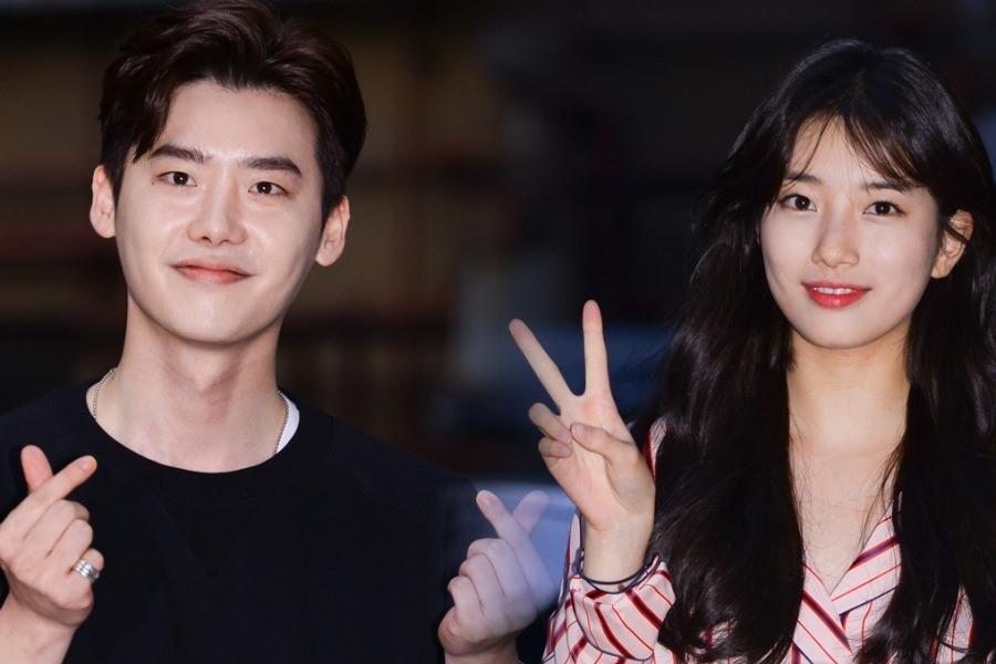 Lee Jong Suk dan Suzy Terlihat Menghadiri Pesta Perpisahan Drama 'While You Were Sleeping'
