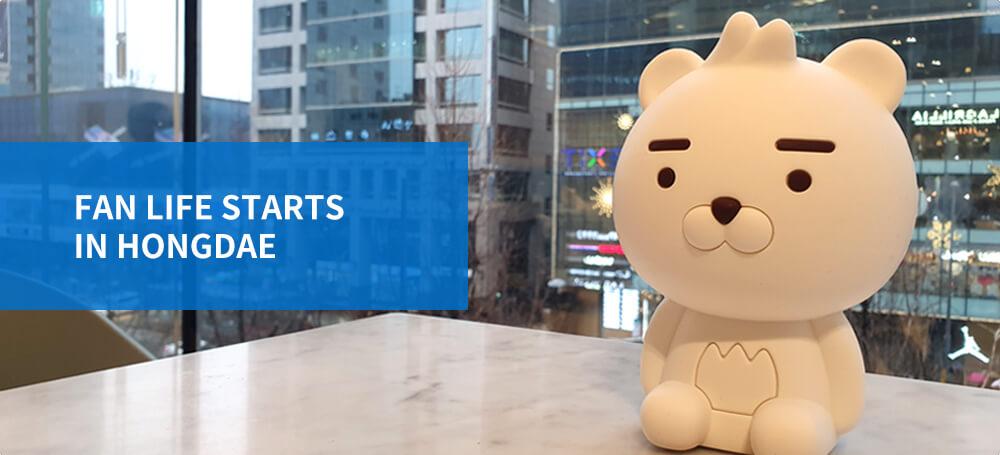 Kehidupan penggemar dimulai di Hongdae