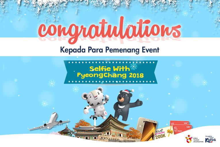 Pemenang EVENT - [H-98] Selfie with PyeongChang 2018