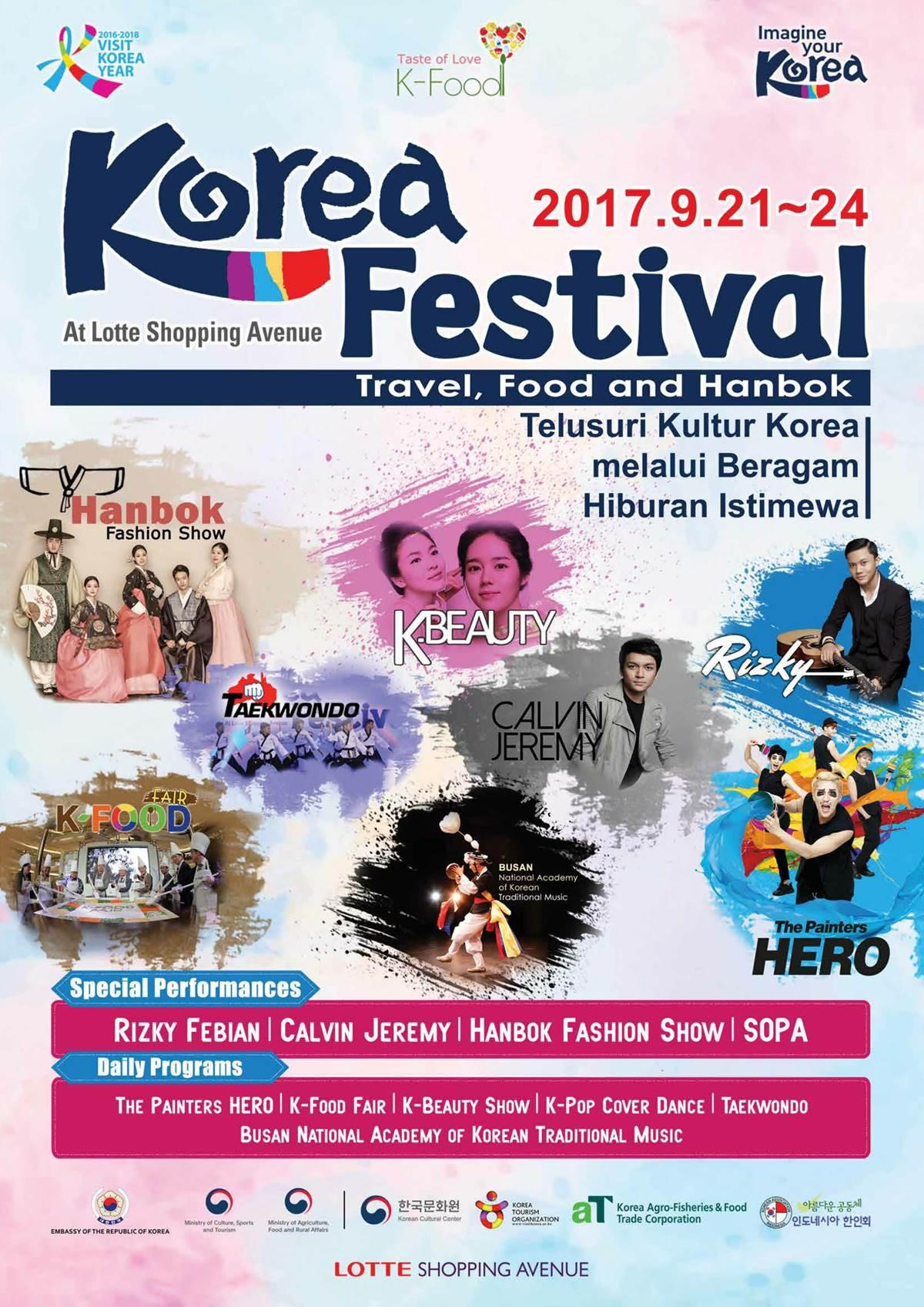 KTO Jakarta Segera Gelar Korea Festival 2017