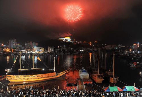 Hasil gambar untuk Festival Perang Tongyeong Hansan