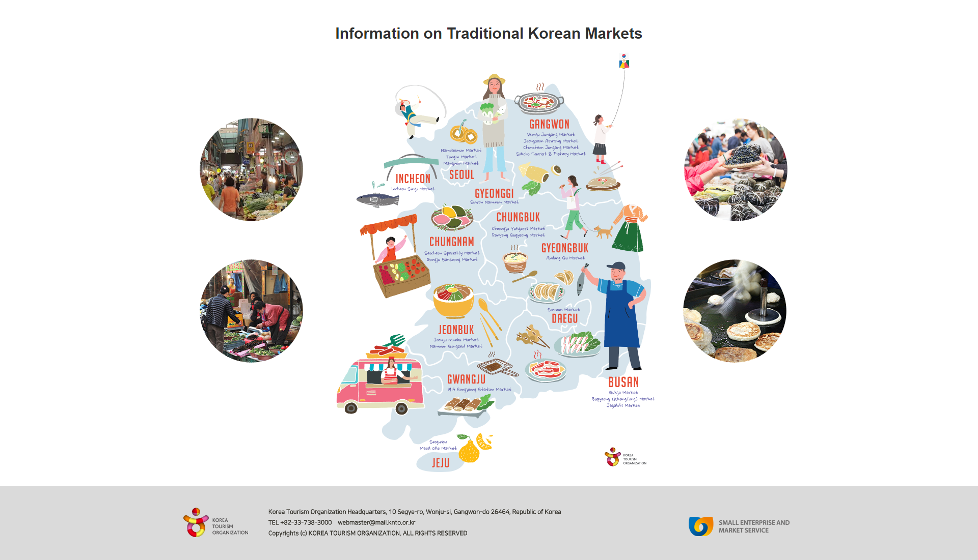 Bulan Kunjungan ke Pasar Tradisional Korea