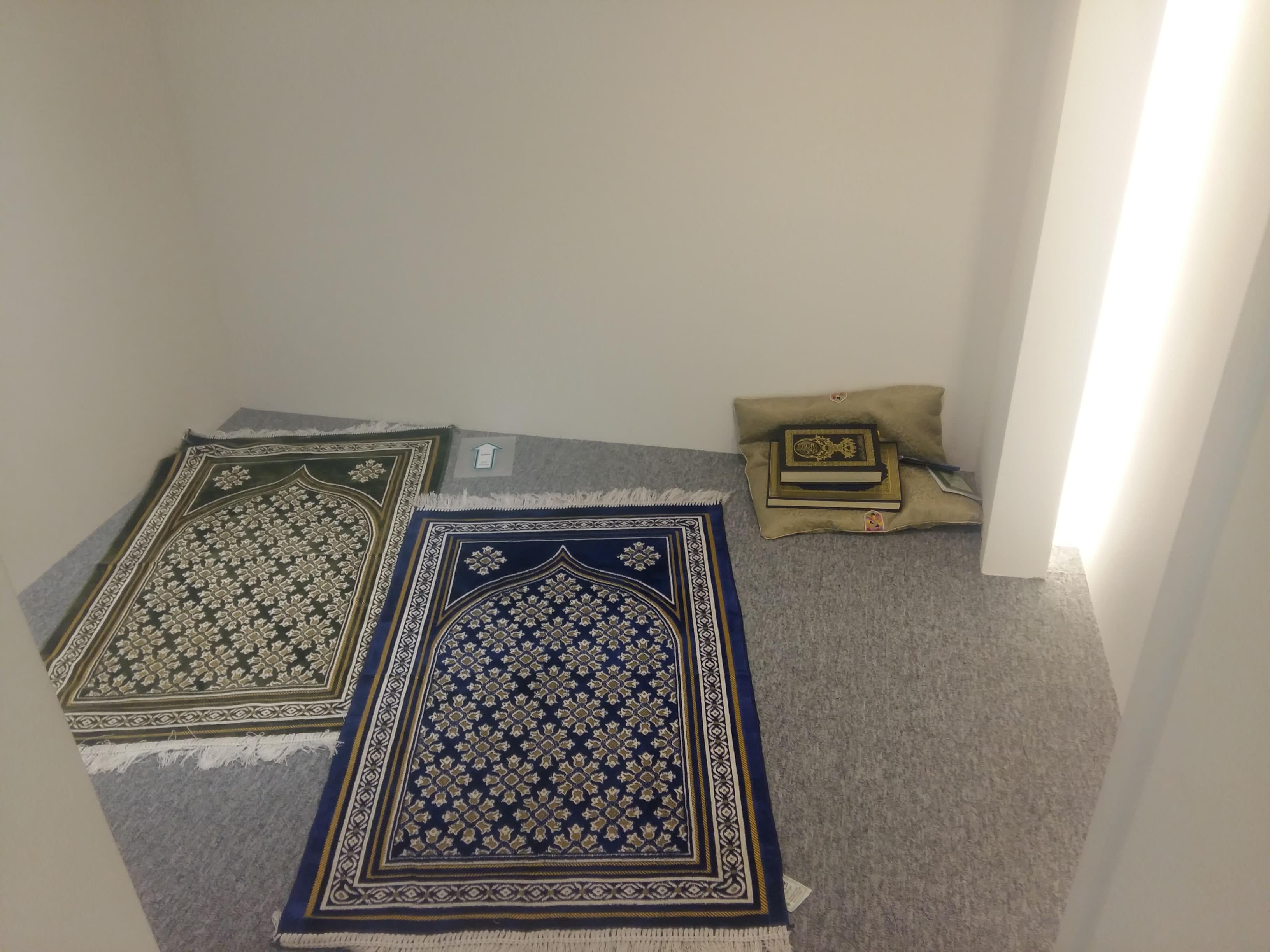 Ruang Sholat Bagi Wisatawan Muslim di Kantor KTO