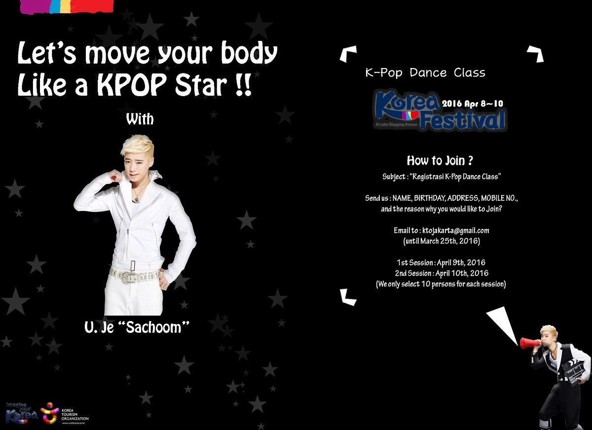 """K-Pop Dance Class """"Let's Move Your Body Like a KPOP Star!!"""""""