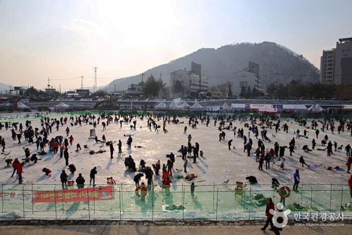 Festival Es Sancheoneo Hwacheon (얼음나라 화천산천어축제)
