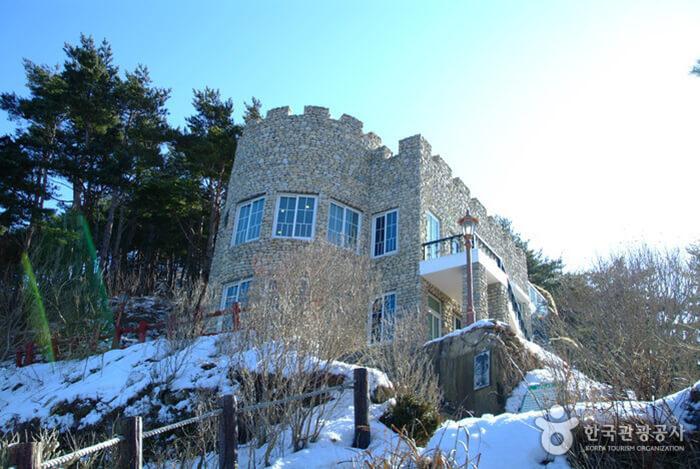 Kastil Hwajinpo-Villa Kim Ilsung