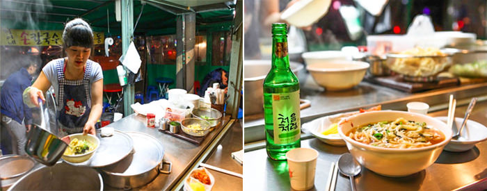 Perjalanan Malam di Kota Seoul