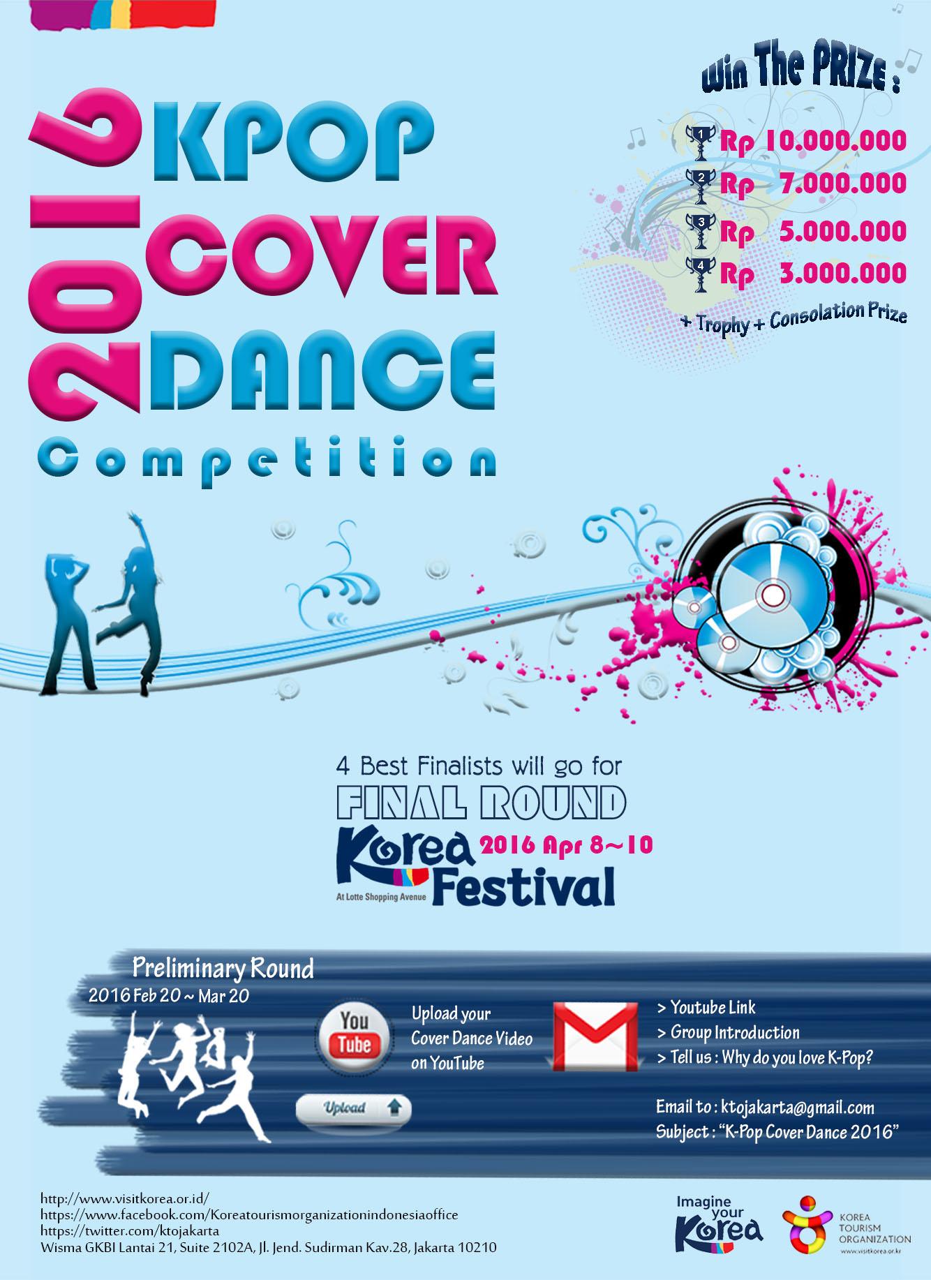 KOMPETESI K-POP COVER DANCE 2016
