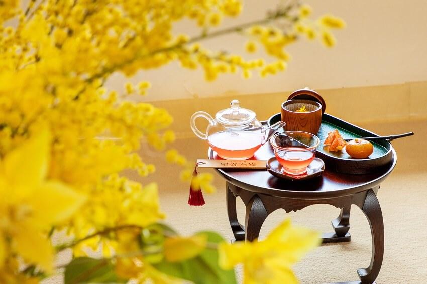 Mencoba Refreshment Tradisional di Saenggwabang Gyeongbokgung