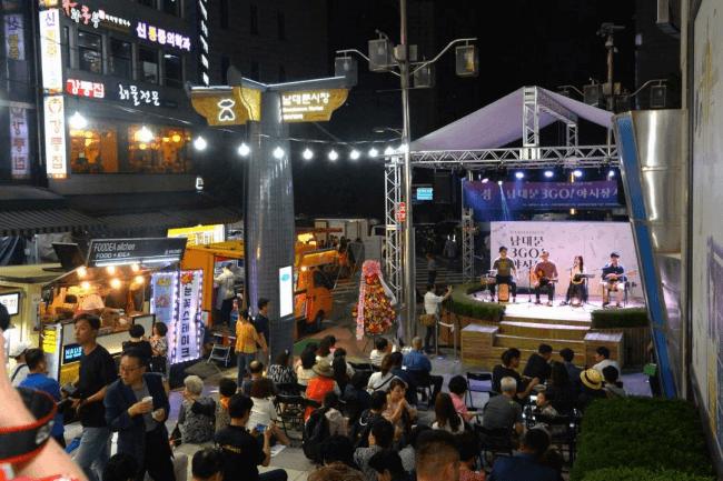 Makan, Minum, dan Bergembiralah di Pasar Malam 3GO Namdaemun