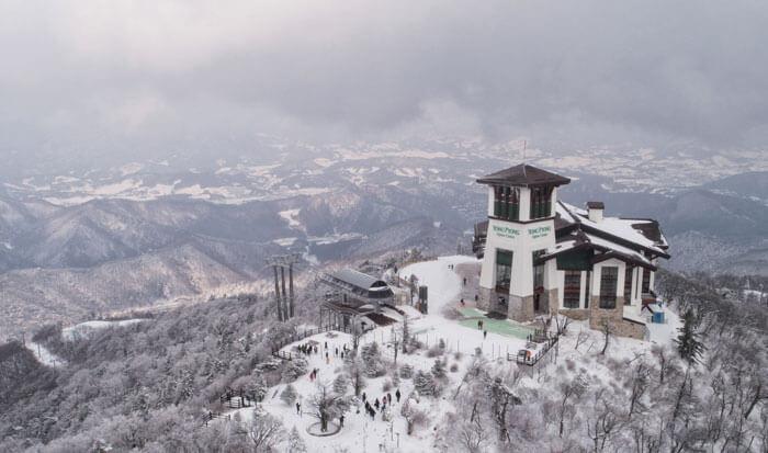 Yong Pyong Resort Barwangsan Mountain