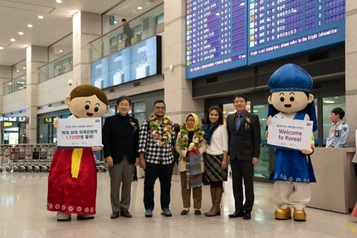 Korea Menyambut Wisatawan ke-17.25 Juta: Wisatawan Asal Indonesia!