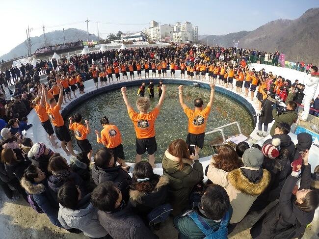 Nikmati Musim Dingin yang Mendebarkan di Festival Es Sancheoneo Hwacheon