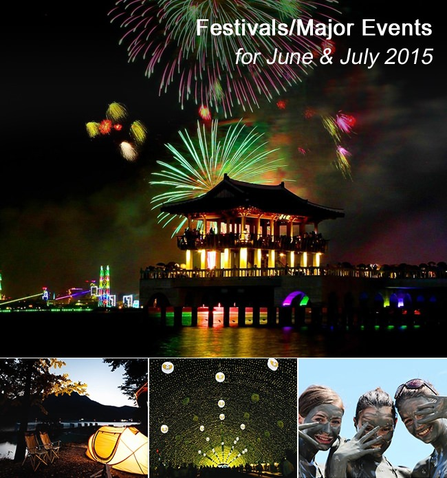 Festivals/Major Even - Juni dan  Juli 2015