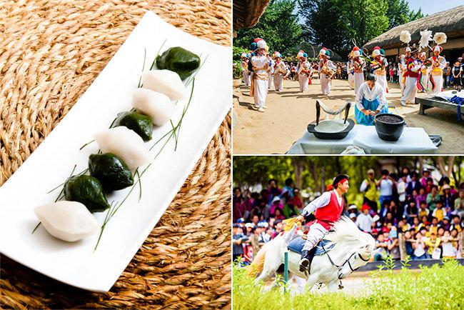 Festival Hangawi di Desa Rakyat Korea