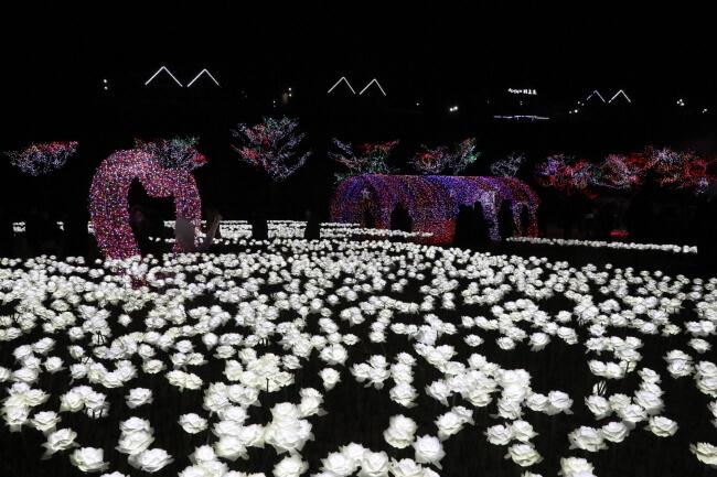 Festival Cahaya Menerangi Setiap Malam Musim Dingin