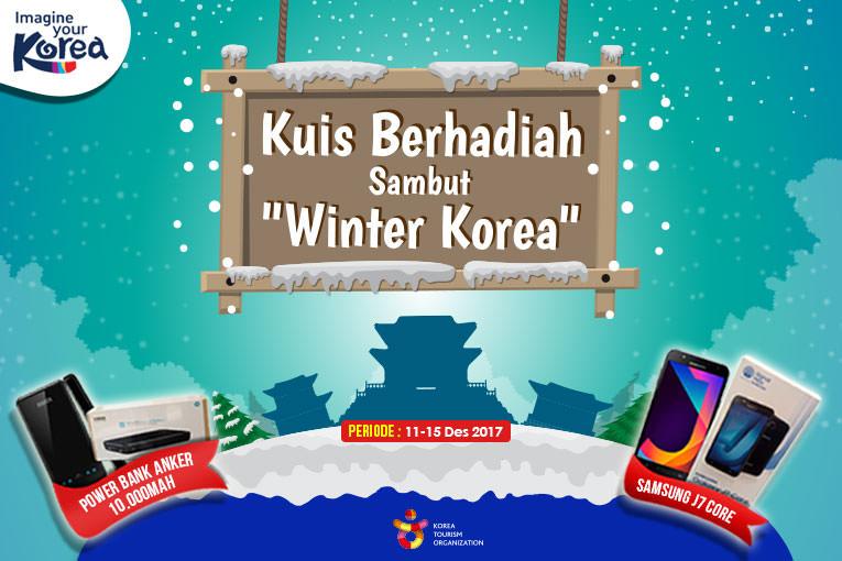 "EVENT - Quiz Berhadiah Sambut ""Winter Korea"""