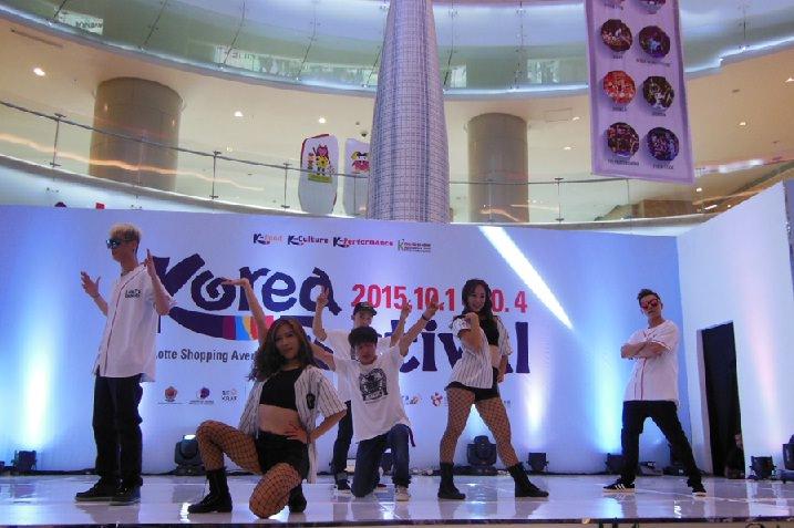 Korea Festival 2015, B-Boy dan Tarian Akrobatik yang Bersemangat