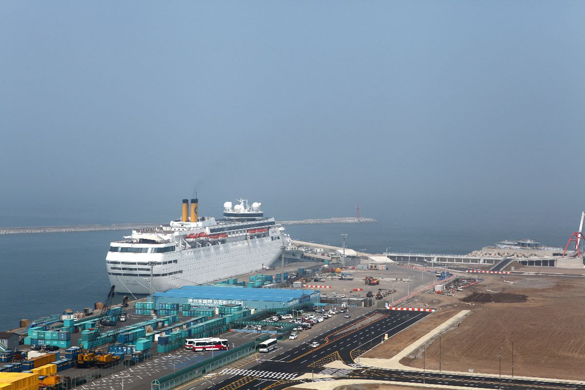 Cruise in Jeju