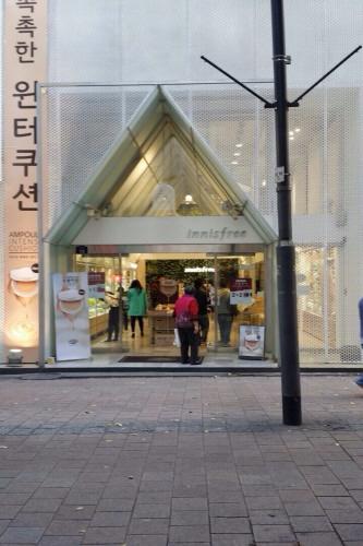 Innisfree - Cabang Myeong-dong