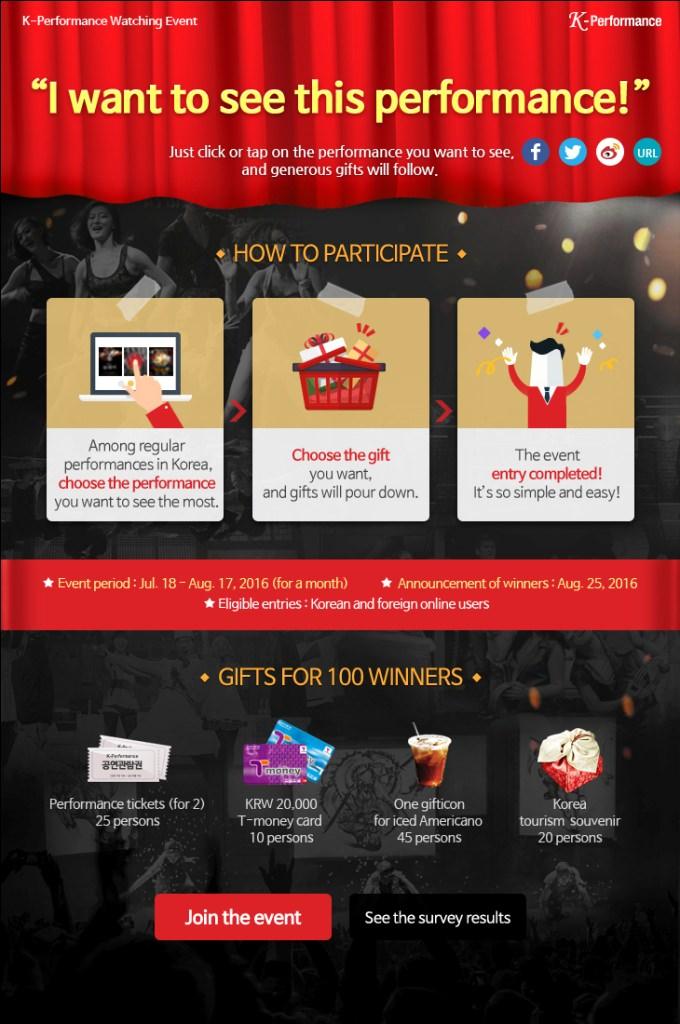 Menangkan Tiket Nonton K-Performance Secara Langsung di   Korea