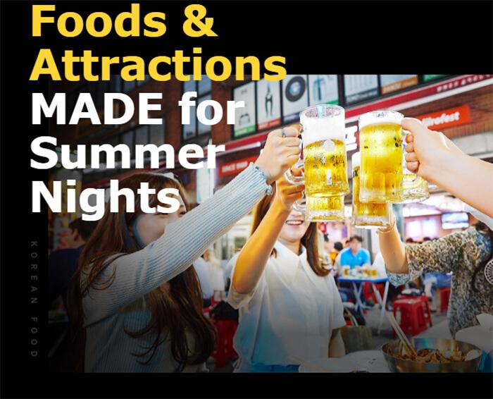 Makanan & Wisata UNTUK Malam Musim Panas