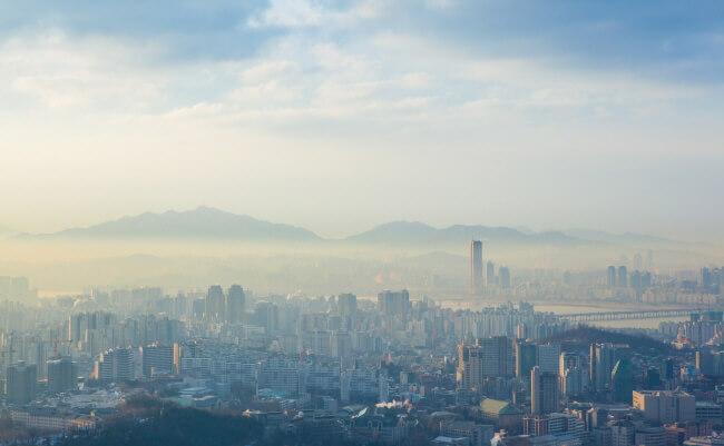 Periksa Level Debu Halus (Fine Dust) Bersama Air Korea