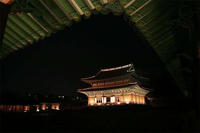 Tur Cahaya Bulan di Istana Changdeokgung