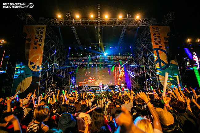 Sama-sama Bawa Perdamaian di DMZ Peace Train Music Festival!